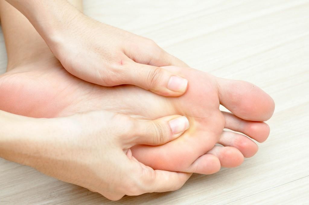 Рефлекторен масаж на ръце и крака