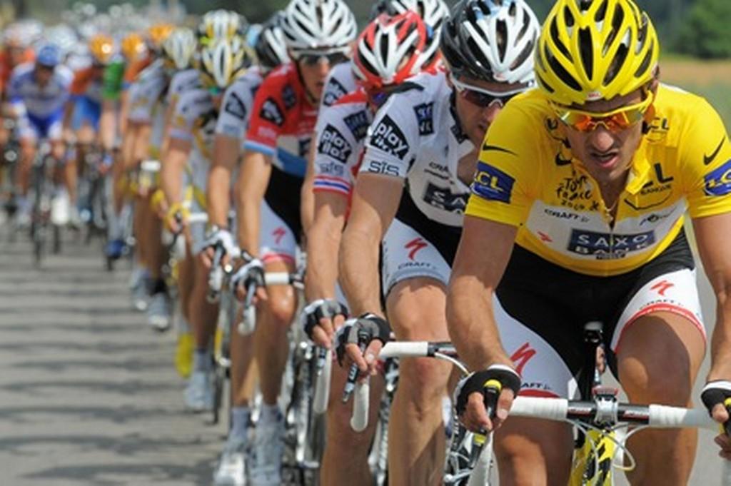 Масаж при колоездачи